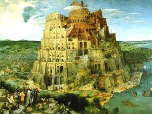 The Tower of Babel - Pieter Bruegel / Reprodução