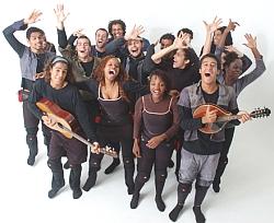 Divulgação/Nós do Morro/Shakespeare é tratado com intimidade pelos atores do grupo carioca Nós do Morro