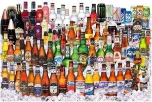 Catálogo de bebidas da Anheuser-Busch. Grande, não?!