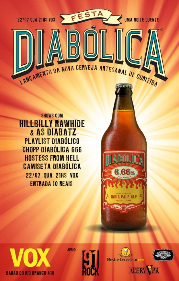 Divulgação/Carveja Diabólica
