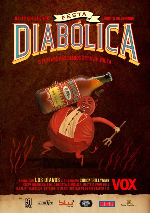Divulgação/Cerveja Diabólica