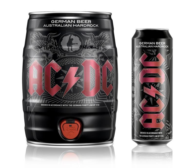 Cerveja do AC/DC será lançada no Brasil em Curitiba