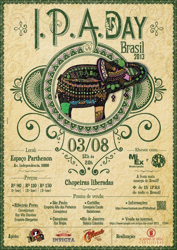 IPA Day: encontro mais amargo do Brasil acontece em Ribeirão Preto neste sábado