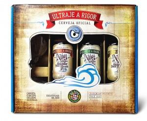 Ultraje a Rigor ganha cerveja. São três estilos: Bohemian Pilsner, Pale Ale e Weiss