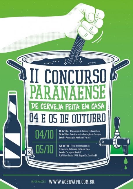 2º Concurso de cerveja artesanal do Paraná terá palestras e festa