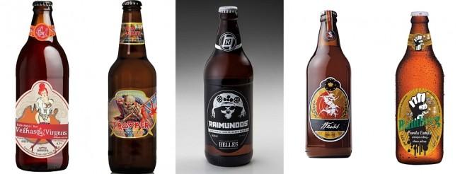 Oficina Cerveja e Rock'n Roll faz degustação dessas belezinhas ao som de cada uma das bandas