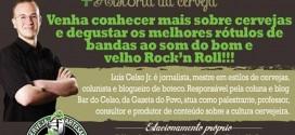 Palestra Cervejas e Rock'n Roll na Oficina do Hop em Curitiba