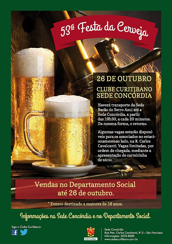 Festa Da Cerveja Mais Antiga Do Brasil é Sábado Em Curitiba