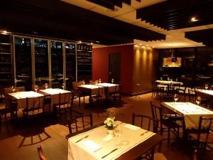 Ambiente do Terrazza 40 com decoração moderna e sutil
