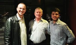 Encontro com o proprietário da cervejaria Kustmann, Sr. Armin, no Terrazza 40, em Curitiba