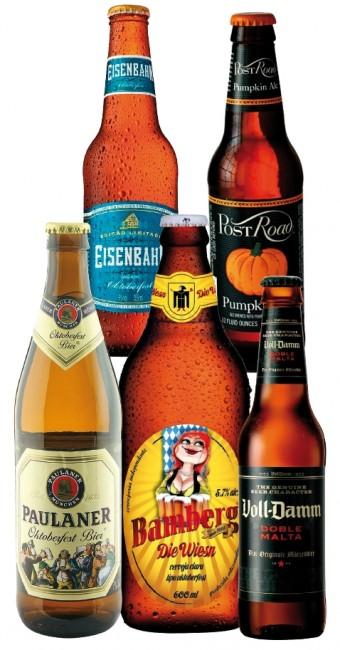 Cervejas sazonais de outubro: Oktoberfest e Pumpikin Ale