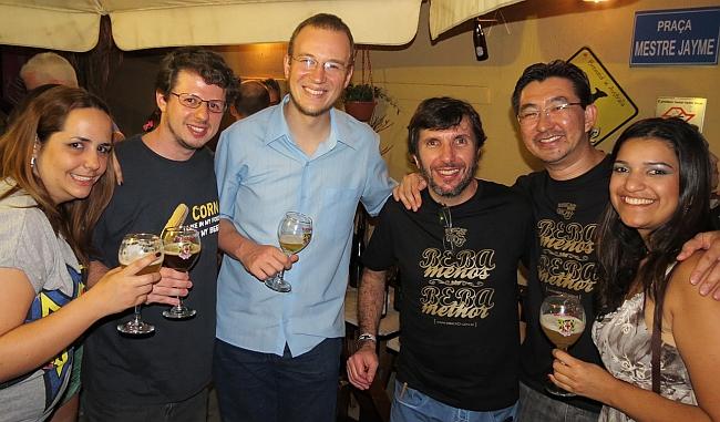 Lupulus: blogueiros presentes na festa da importadora Cervabel e degustação das cervejas