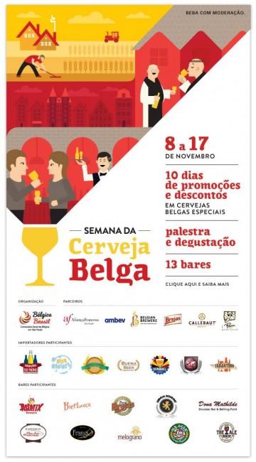 Semana da Cerveja Belga em São Paulo