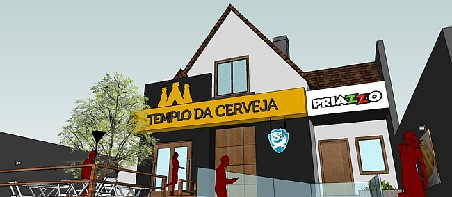 Templo da Cerveja inaugura loja com restaurante em Curitiba