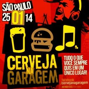 Evento Cerveja na Garagem estreia no aniversário de São Paulo