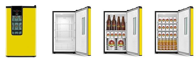 Cervejeira Consul Mais, uma geladeira de cerveja
