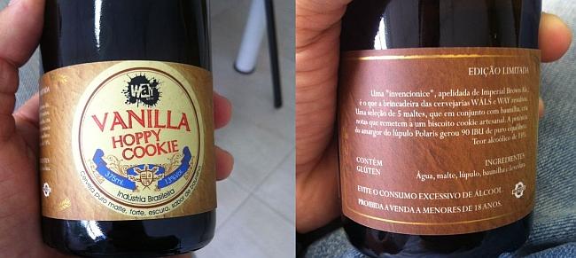 Way Beer e Wäls lançam cerveja colaborativa Vanilla Hoppy Cookie