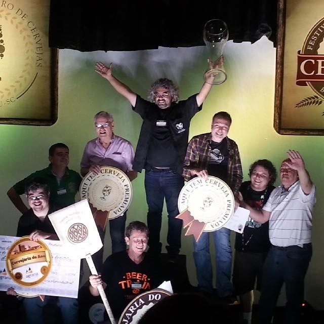 Cervejarias do Paraná comemoram pódio no II Concurso Brasileiro da Cerveja