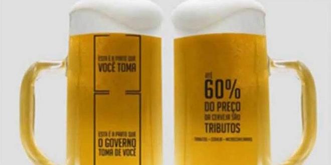 O Beer Os impostos da cerveja...