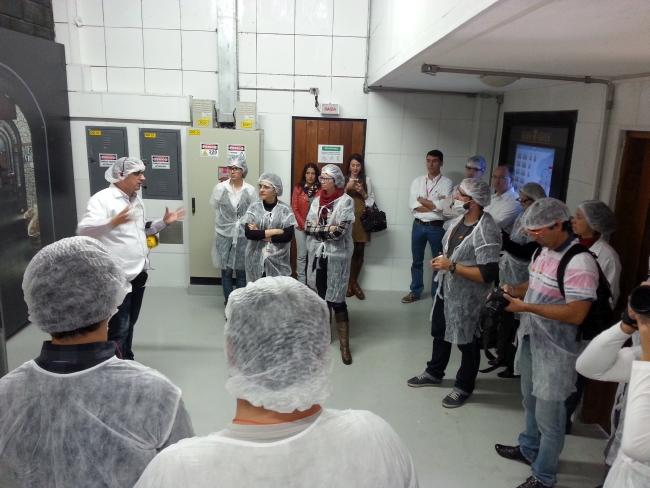 Baden Baden 15 anos: visita à fábrica