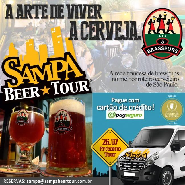 Passeios em São Paulo: Sampa Beer Tour