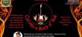 Oficina Cerveja e Rock'n Roll em São José do Rio Preto (SP) tem nova data