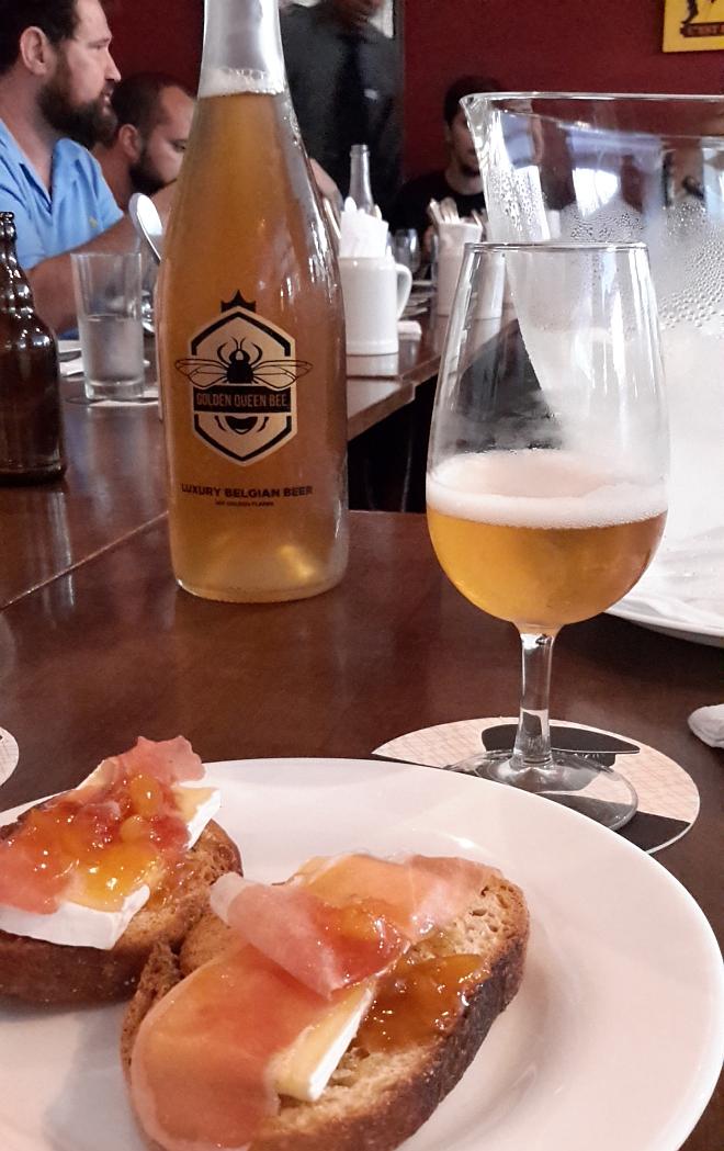Artesanato Com Eva Para Vender ~ Experimentamos a cerveja com ouro Golden Queen Bee Saiba como elaé BarDoCelso com