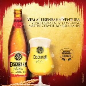 Concurso Mestre Cervejeiro - Eisenbahn Ventura Belgian Blond Ale