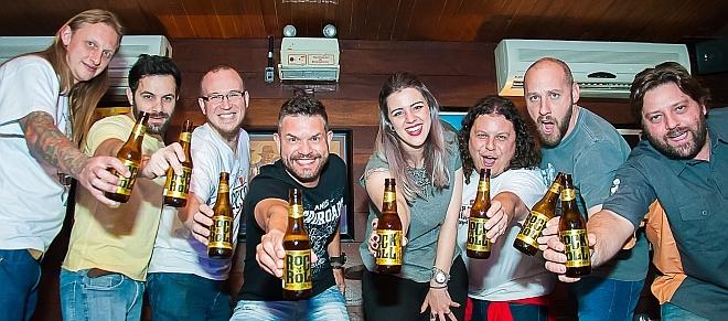 Crossroads Rock'n Roll Session Rye Pale Ale - BarDoCelso.com, DUM Cervejaria e Bastards