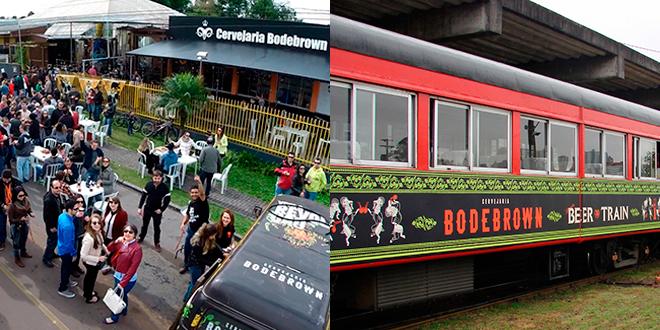 Bodebrown Festival da Primavera e Beer Train