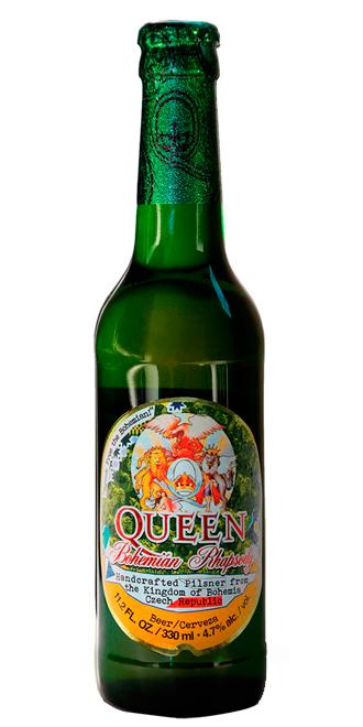 Cerveja Queen Bohemian Rhapsody chega ao Brasil pela Bier & Wein Importadora