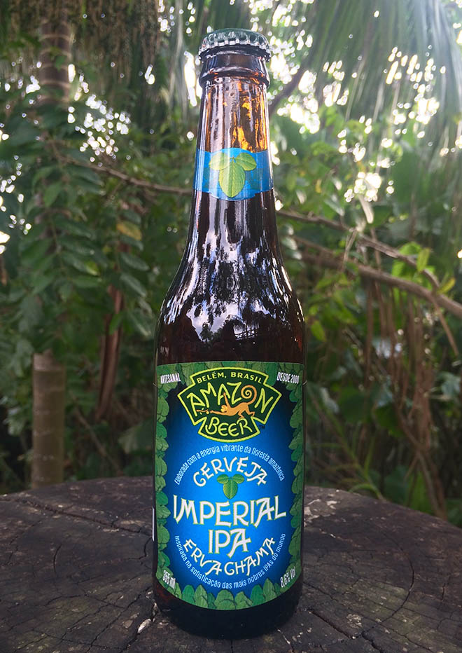 Erva Chama Imperial IPA Amazon Beer