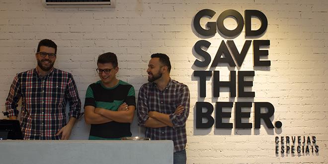 Sucesso em tempos de crise: God Save The Beer comemora seu primeiro ano