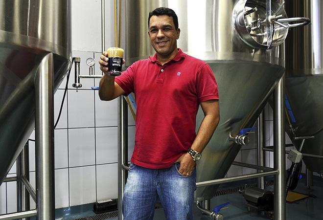 Rodrigo Silveira, mestre cervejeiro e diretor da Invicta