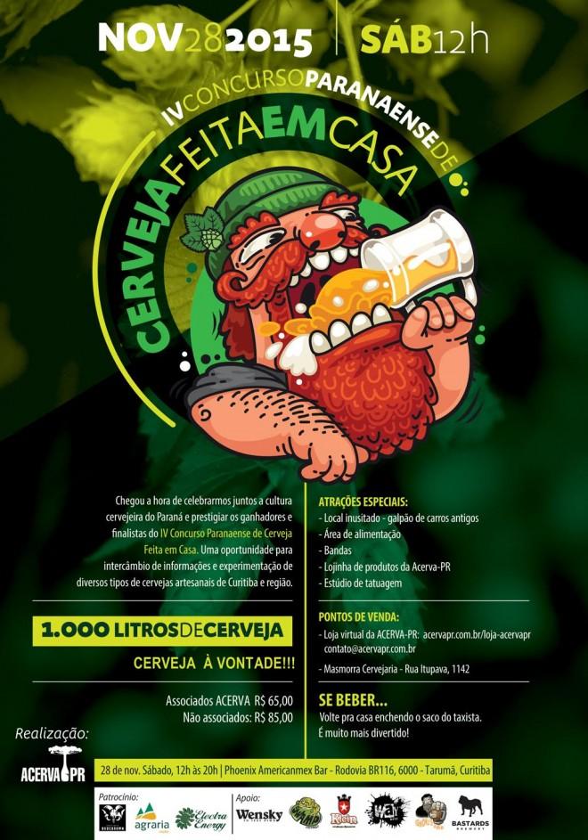 Concurso Cerveja Feita em Casa