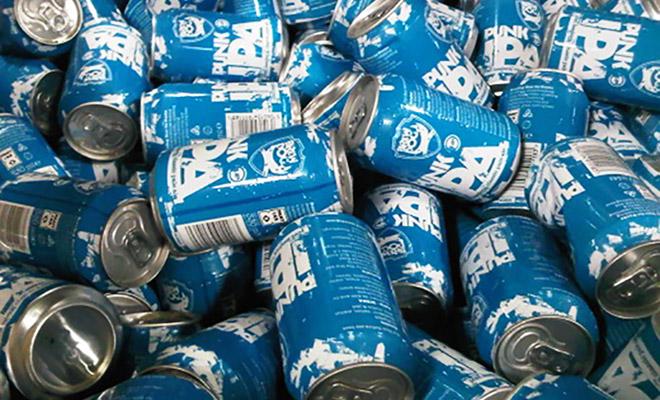 cerveja artesanal em lata punk ipa