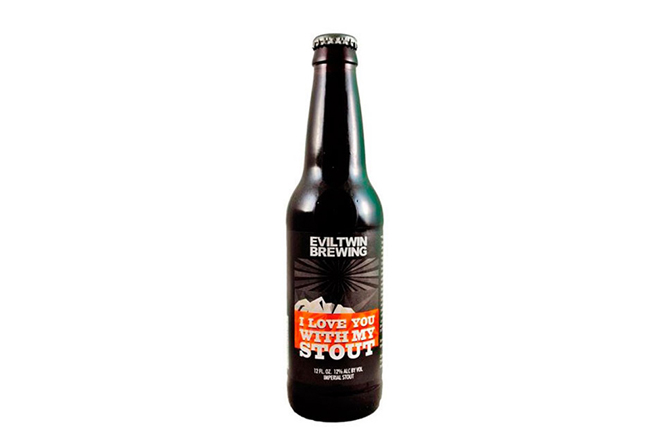 I love you with my stout Eviltwin