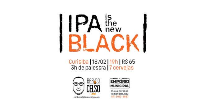 IPA is the new black: BarDoCelso.com e Empório Municipal promovem palestra e degustação