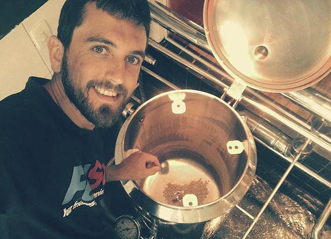 Produção da Australian IPA pelo mestre cervejeiro Alberto Basso