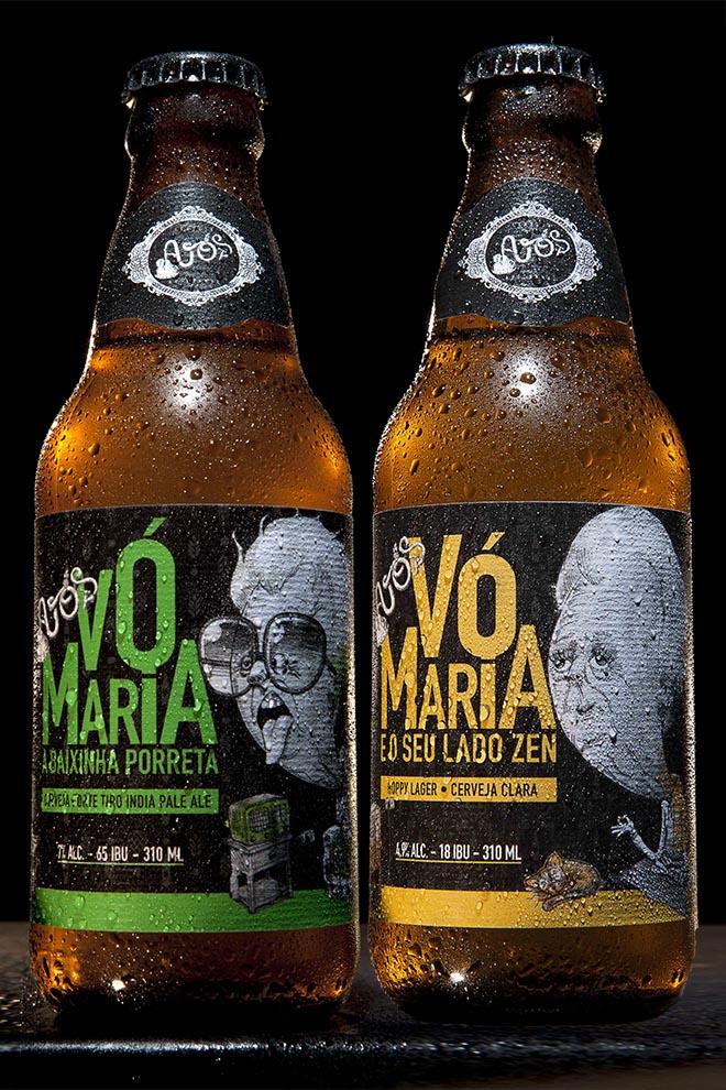 cerveja Avós ipa e hoppy lager