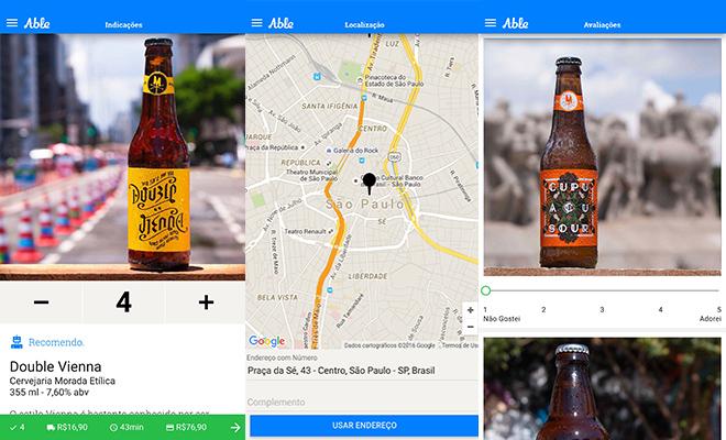 Aplicativos cervejeiros able