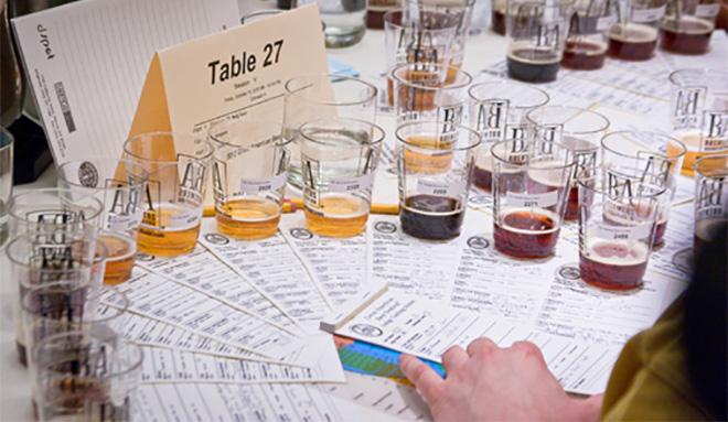 Exemplo de mesa de um concurso BA