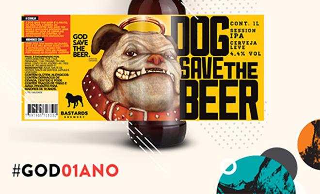 god save the beer dog