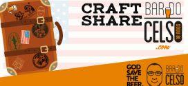 BarDoCelso.com traz o Craft Share para o God Save The Beer