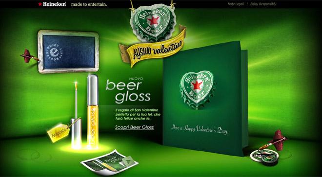 produtos com cerveja gloss