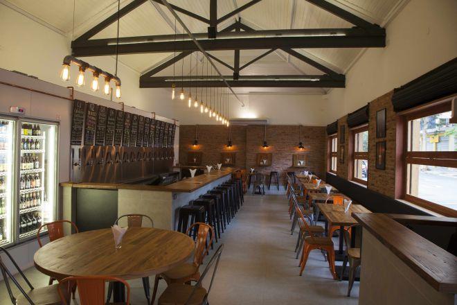 Bar Ambar Pinheiros - espaço interno
