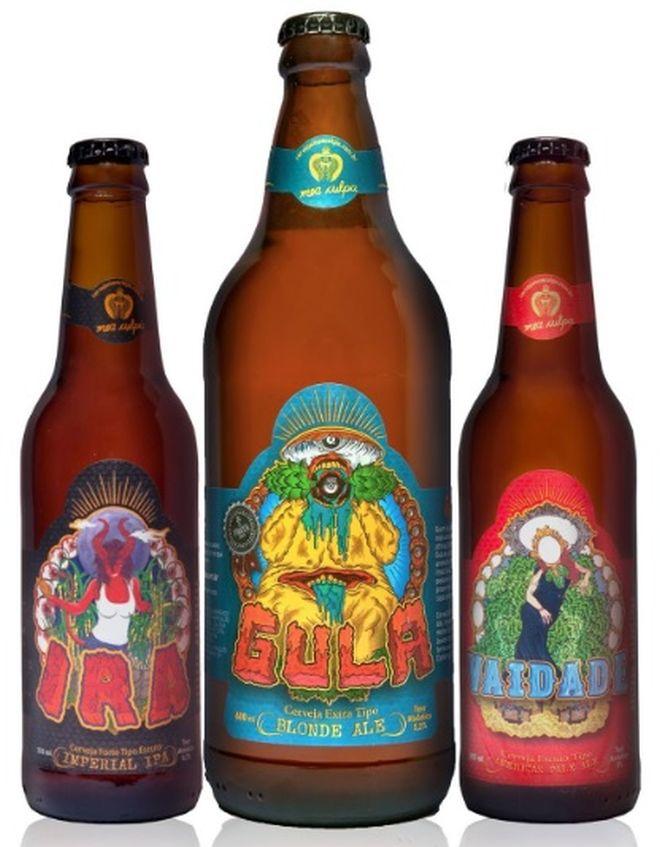 Evento Lançamento Luxúria - Cervejas Portfólio Mea Culpa