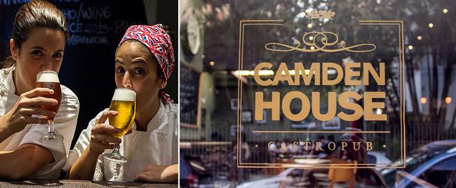Camden House restaurantes com cervejas artesanais