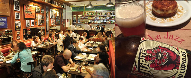 Le Jazz restaurates com cervejas artesanais