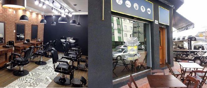 barberia sport club - bar e interior